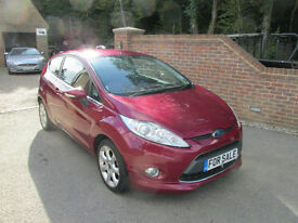 2008 (58) FORD FIESTA 1.4 ZETEC 3DR HATCH + JUST 66,000 MILES