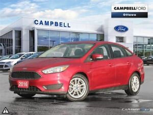 2016 Ford Focus SE CERTIFIED-PRE OWNED BEST BUY