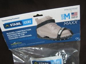 stabil-icers cleats rugged construction.  brand new. firm.