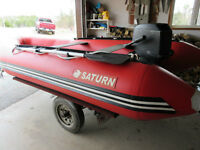 14 FT inflatable Boat