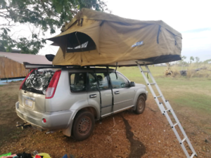 X-trail with Rooftop Tent and All Camp Gear