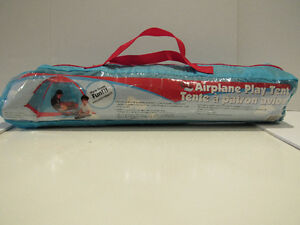 "Children's Airplane Play Tent - 5'W X 4'D X 36""H"