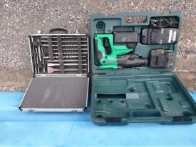 Hitachi Cordless 24v sds drill/breaker