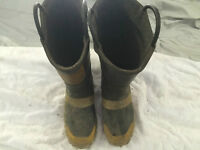 Servis Firefighter Boots size 9m 10 wide