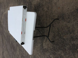 Card Table with 4 Chairs + 2 Folding Tables
