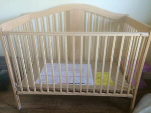 4 in 1 Convertible Crib with Mattress