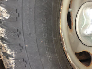 Snow tires and rims Windsor Region Ontario image 1