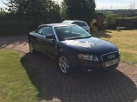 Audi A4 Convertible 2006, facelift model, it is the 1.8t with 163bhp