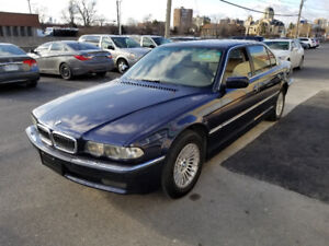 2001 BMW 740 IL /NAVI /MINT /SHOWROOM CONDITION/ MUST SEE