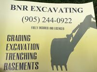 Excavation-digging services