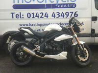 2011 Triumph Speed Triple 1050 ABS / Arrow Exhaust System / Finance / Delivery