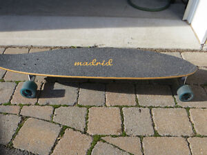 "Madrid 39"" Longboard - used very little West Island Greater Montréal image 3"