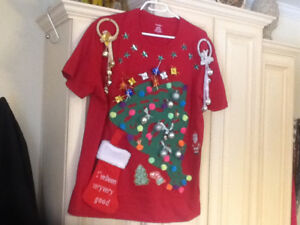 Original 3-D Christmas Themed Ugly Sweater