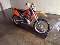 2003 Ktm 250 sx converted for woods