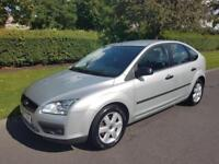 FORD FOCUS 1.8 SPORT (125bhp) - 5 DOOR - 2007 - SLIVER ** NEW SHAPE **