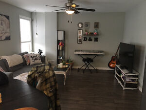 1 Bedroom west end apartment INTERNET AND UTILITIES INC.