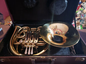 Opus USA Double French Horn + Two Mouth Pieces +  Lube