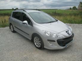 Peugeot 308 SW 1.6HDi ( 112bhp ) SR