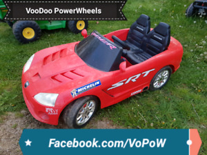 Kid trax 12v dodge viper kids ride on