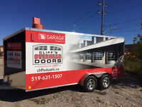 Garage Door Service and new weather stripping $149.00