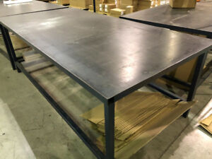 STEEL WORK TABLE 4x8