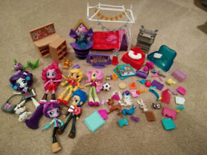 Huge lot My Little Pony Equestria Girls toys