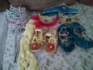 Princess Accessories - shoes, gloves, crowns, etc.