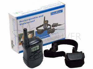 Rechargeable 300M Shock Remote Dog Pet Training Collar