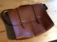 Clarke's 100% Leather Satchel Ex condition, hardly used.