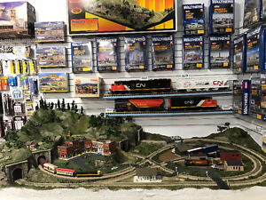 Build your Model Railroad Layout today! Trains,Track,Scenics