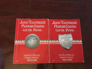 Level 1  and 2 Piano Books
