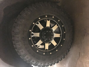 4 Gear rims with duratrac