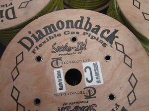 New Diamondback Flexible Gas line. 250 foot roll for Only $550.