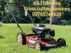 A&J Gardens Grass cutting services