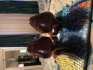 Christian Louboutin brown like new size 40
