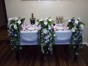 Wedding or event or party flowers - decoration