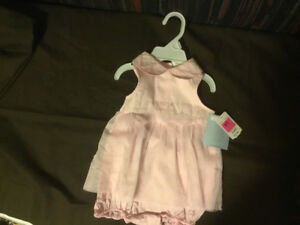 Pink Onsie with Tulle OverDress  BRAND NEW ***REDUCED $4