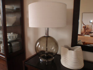 Pair of Large Mid century modern table lamps