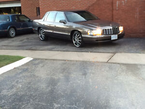 ForSale:1998 Cadillac deville Chrome loaded luxury cruiser