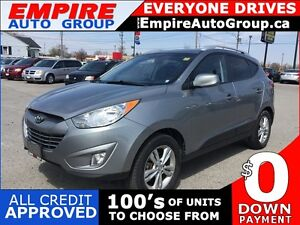 2012 HYUNDAI TUCSON LIMITED PZEV * AWD * LEATHER/CLOTH * HEATED