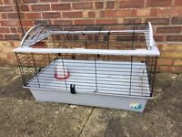 Guinea Pig Rabbit Hutch with feeder