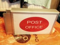 Post office display box for outside shop