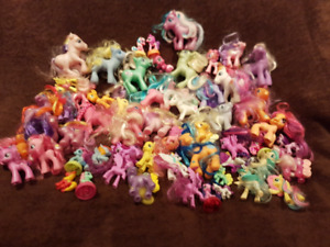 My Little Ponies (57 pieces)