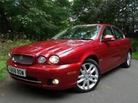 2008 58 Jaguar X-TYPE 2.2D 143 bhp DPF auto SE..FULL SERVICE HISTORY..STUNNING!!