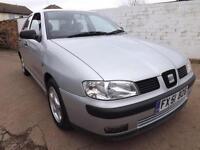 Seat Ibiza 1.4 2002 Chill 99000 MILES