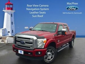 2015 Ford F-350 Super Duty Platinum   - Navigation -  Leather Se