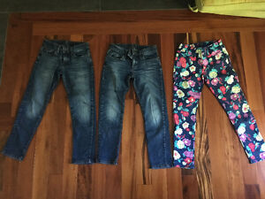 GapKids jeans and leggings