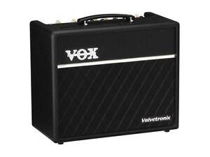 Guitar amp VOX VALVETRONIX 20 W with genuine 12AX7 vacuum tube