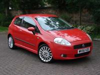 EXCELLENT SPEC! 2006 FIAT GRANDE PUNTO 1.4 16v SPORTING 3dr, 6 SPEED, LONG MOT