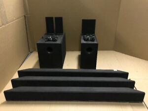 AS-IS 5 ASSORTED VIZIO SOUNDBARS AND SUBWOOFERS - MNX